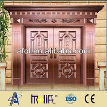 AFOL luxury copper door security