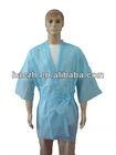 disposable salon kimono/white/blue/yellow/black/red/factory