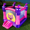 2013 hot princess palace inflatable bouncer combo with slide