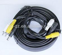 alibaba 75ohm 120ohm copper core RJ11 coaxial cable to RCA