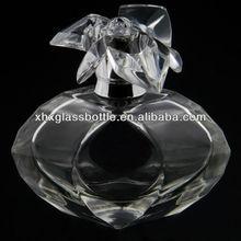 Lastest design glass perfume bottle colonge eau de