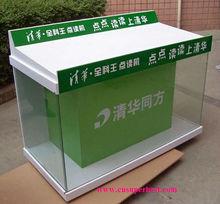Advertising acrylic computer display