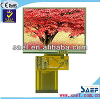 """320x(RGB)X240 dots 3.5"""" tft display with touch screen medical lcd display"""