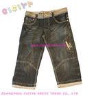 2014 summer children boy's nice cutting bermuda new style boys pants jeans