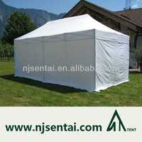 3X6M 10X20' White Top Quality Aluminum Popup Sun Shelter Canopy Exhibition Event Marquee Gazebo Folding Marketing Tent