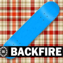 backfire skateboard outside wooden deck,skateboard canadian maple