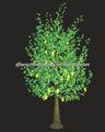 led al aire libre artificial decorativa estrella de la forma cónica de la fruta del árbol de la luz