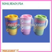 Shenzhen OEM imaged plastic dringking cup set