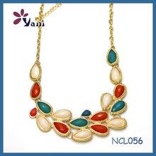 Latest Bib Necklace china jewelry necklace collar