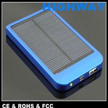Hot sell 2600mAh portable solar LAMPE DE NUIT memory