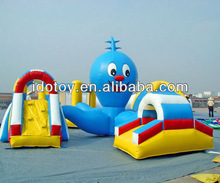 PVC outdoor inflatable obstacle course for kids