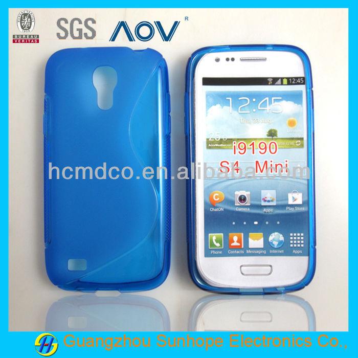 S design back cover for Samsung S4 MINI i9190 case