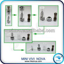 New Arrival vivi nova rotatable1.8-2.8ohm Vision Vivi Nova V2 V3 V4 V5 V6 V7 V8 V9 V10 vivi nova tank