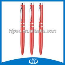 Free Ink Multi Color Metal Ballpoint Pen