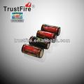 Trustfire 18350 recarregável de polímero de lítio célula de bateria 1200 mah 3.7v com ce