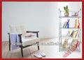 2013 novo design de metal livro rack para casa e escritório