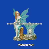 Polyresin Fairy Animated Handmade Aromatherapy Oil Burner