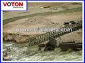 la estructura de acero del puente puente bailey