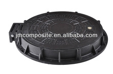 D400 clear opening 600mm SMC septic tank cover and frame Hinge and Lock