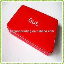 Printed Tin box/metal tin with lid base