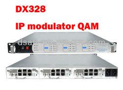 DX328 IP modulator QAM for CATV head end