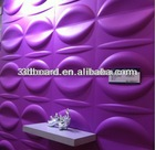 Graceful and eco-friendly interior wall panels