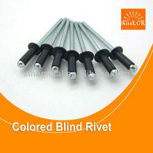 Black metal rivet/fastener factory