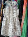 net bordado com paetês tecido menina vestido