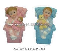 polyresin cartoon dolls baby toys
