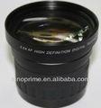 Lente de la cámara de fotos móvil lente 58mm 3.5x