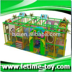 Indoor playground flooring