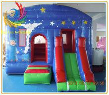 Cartoon Theme Giant Inflatable Bouncer for Kids-flatable castle RL CS025
