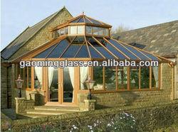 Aluminum frame sunlight glass room for outdoor DS-LP425