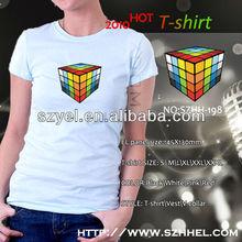Wholesale Alibaba Equalizer EL T-shirt,LED Lights for T-shirt,Brasil Polo LED T-shirt Online Shopping