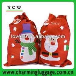 personalised christmas sacks christmas gift bag