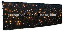 rgb led wedding backdrops curtains