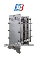TL10B Replacement Stainless Steel Clad Frame FDA Class NBR Gasket Type Heat Exchanger for Milk Pasteurization