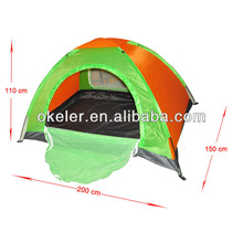 Okeler Camping Tent For Two person waterproof dual layers hiking tent