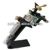 Black acrylic tattoo gun display stand acrylic tattoo gun stand