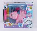 B/bolha o elefante com luz e música de sopro elephent brinquedos da bolha