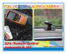 Ambarella full hd 1080p professional racing outdoor sports camera sport