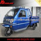 Chinese closed cabin cargo tricycle &baiaj three wheeler price