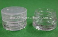 3ml mini cosmetic glass jar