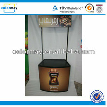 Lightweight Retractable Plastic Promotional Counter