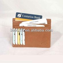 Multiple Slots New card holder leather Pocket Design