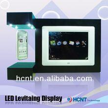 Nueva tecnología! Levitación magnética promoción del soporte de exhibición, Promotor uniformes diseño