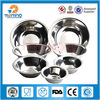 multi size promotional round stainless steel salad bowl, silver fruit bowl