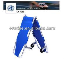 aluminum alloy foldable stretcher hospital emergency rescue product
