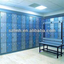 hpl 4 tier compartment compact laminate locker