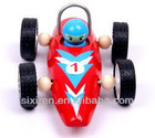 wooden cheap high-speed car model toys for kids